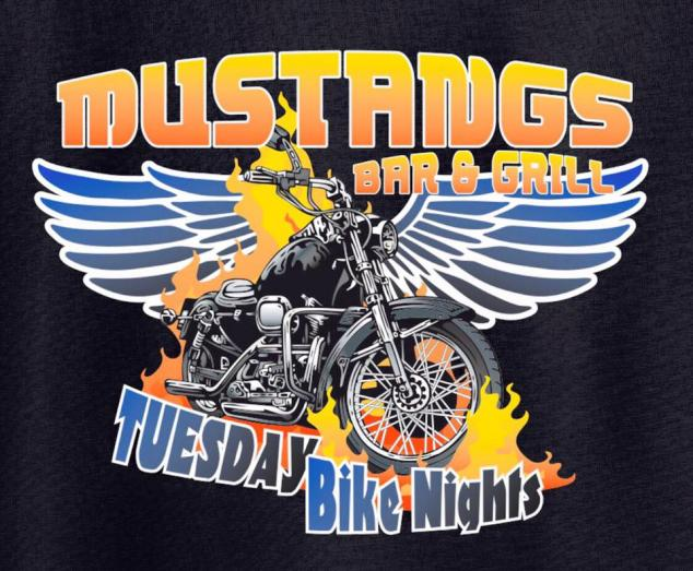 Fork in the Road live music at Mustang's Bar & Grill Tuesday Bike Night