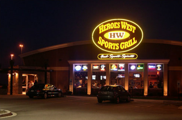 Fork in the Road show at Heroes West Sports Grill