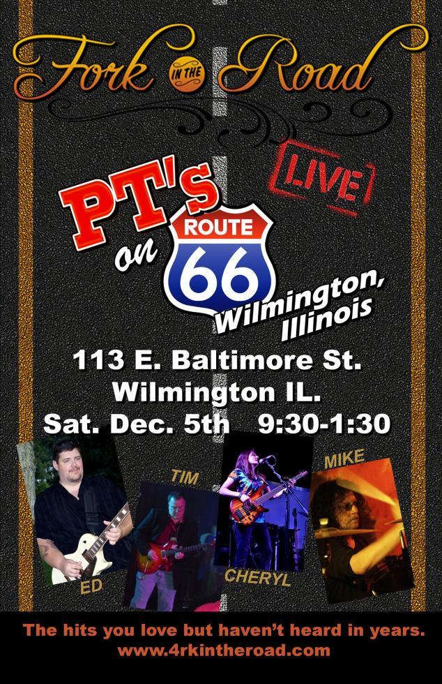 December 5th 2015 - Classic Retro Rock LIVE at PT's in Wilmington IL
