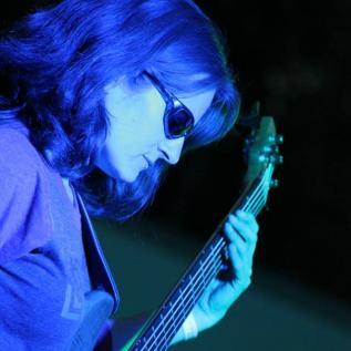 Cheryl McNamee, bass guitarist