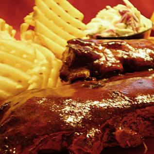 Mouth-watering juicy ribs