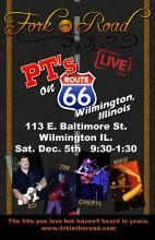 December 5th 2015 - Classic Retro Rock LIVE at PT's in Wilmington IL